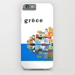 1961 Greece Travel Poster iPhone Case