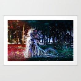 Narcisse Art Print