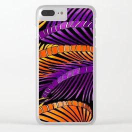 Sea Ferns Clear iPhone Case