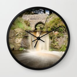 Panniers pool 2 Wall Clock