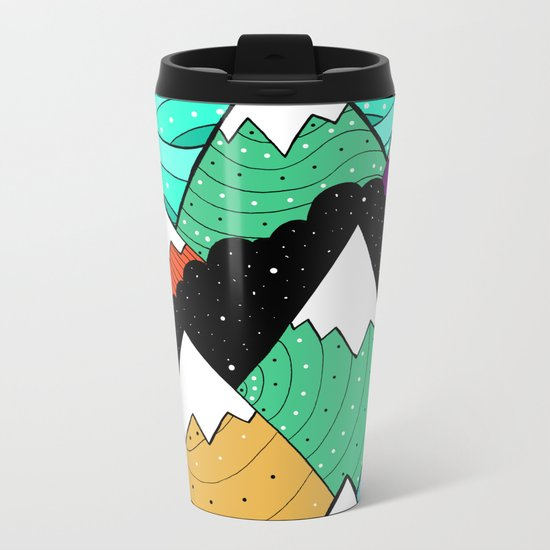 Star fields Metal Travel Mug