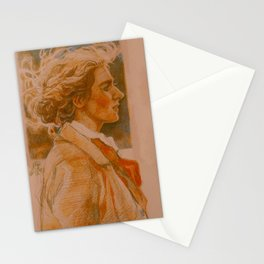 little woman Stationery Cards