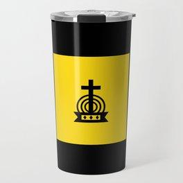 Henny Maestro - Gold on Black Travel Mug