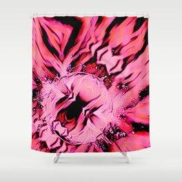 Pink Splash Shower Curtain