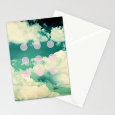 Clouds + Dots Stationery Cards