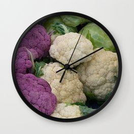 Farmer's market vegetable stand  Wall Clock