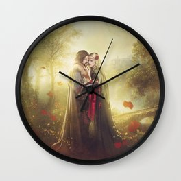 Tristan and Iseult Wall Clock