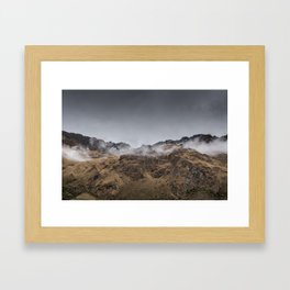 Salkantay 1 Framed Art Print