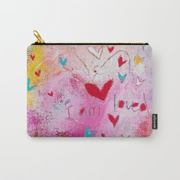 I am Loved Carry-All Pouch