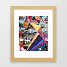 The Stars' Light Reaches You Even When I Can't Framed Art Print