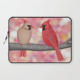cardinals and sun-kissed bokeh Laptop Sleeve