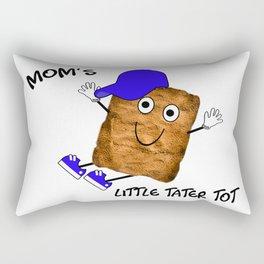 Mom's Little Tater Tot Boy Rectangular Pillow
