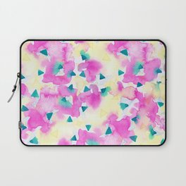 Pink and Blue Summer Breeze Laptop Sleeve
