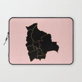 Bolivia map Laptop Sleeve