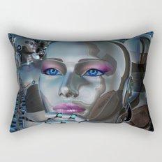 Robotic Chaos Rectangular Pillow