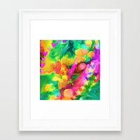 camouflage Framed Art Prints featuring Camouflage by Geni