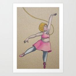 Mikala Art Print
