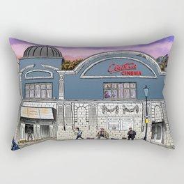 London Cinema Rectangular Pillow