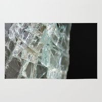 glass Area & Throw Rugs featuring Glass by Roser Arques