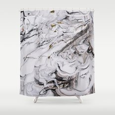 Chic Marble Shower Curtain