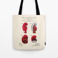 Boxing Glove Patent Tote Bag