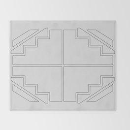 Irresistible - Geometric Print 003 Throw Blanket