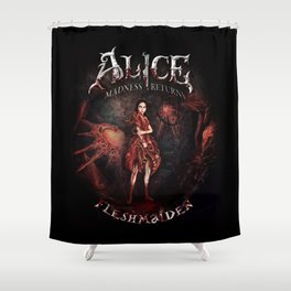 Alice Madness Returns Fleshmaiden Game Shower Curtain