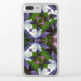 Bartram's Blossom Clear iPhone Case