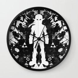 Ink Blot Link Kleptomania Geek Disorders Series Wall Clock