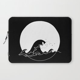 Black Wave Laptop Sleeve