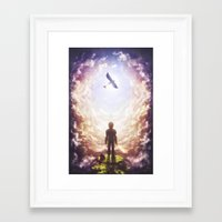 how to train your dragon Framed Art Prints featuring How to train your dragon by Westling