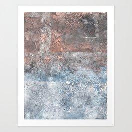 Scorched Sky B Art Print