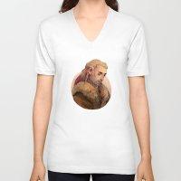 fili V-neck T-shirts featuring Fili by kitsu-neko
