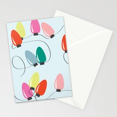 Holiday Lights Stationery Cards