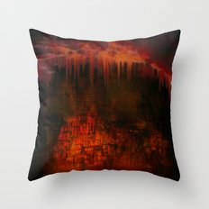 Cave 02 / Golden Fantasy in Palace / wonderful world 07-11-16 Throw Pillow
