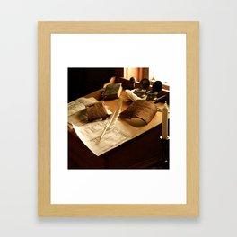 Bookkeeping Framed Art Print