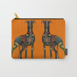 greyhound orange Carry-All Pouch