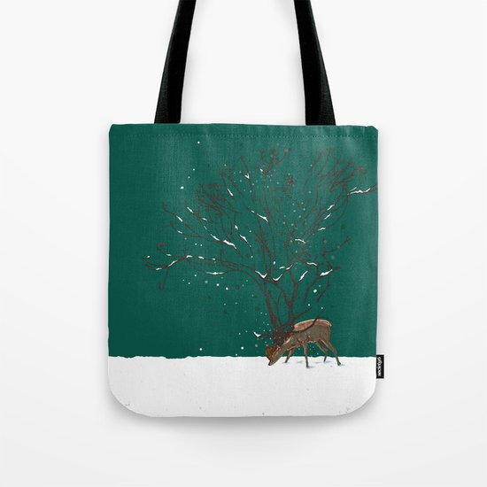 Winter Is All Over You Tote Bag