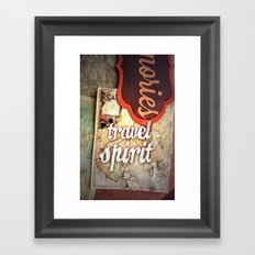 Travel Spirit #2 Framed Art Print