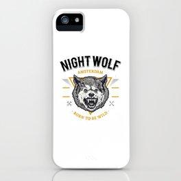 Tete Loup Art iPhone Case