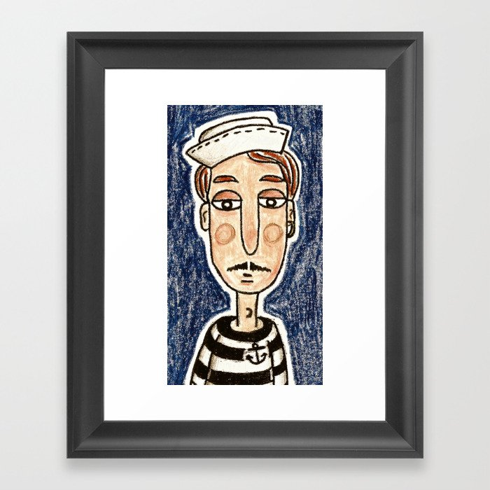 Dreams's Sailor Framed Art Print