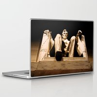 lincoln Laptop & iPad Skins featuring Lincoln stirs by Dr. Tom Osborne