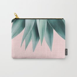 Agave fringe - blush Carry-All Pouch