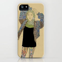 Mipster iPhone Case