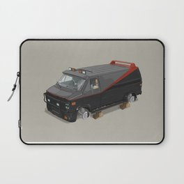 80´s tv and films cars (A team) Laptop Sleeve