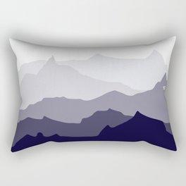 BLUE MOUNTAIN PANORAMA #minimal #art #design #kirovair #buyart #decor #home Rectangular Pillow
