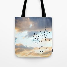 Don't Break Formation Tote Bag