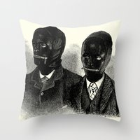 bdsm Throw Pillows featuring BDSM  by DIVIDUS