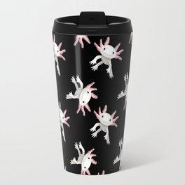 Axolotl Print Travel Mug