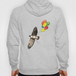 Hawk on his way to a party | Color Hoody